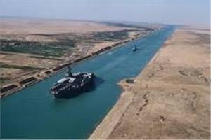 suez cana 1dcrxq 300x200 The first cargo ships passed through Egypts New Suez Canal Romano Pisciotti