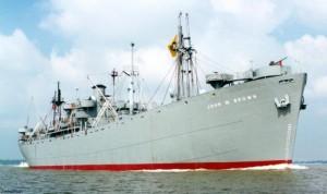 SS John W Brown 300x178 Liberty ship Romano Pisciotti