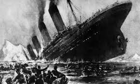 The sinking of the Titanic DROPS OF MEMORIES Romano Pisciotti