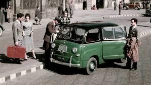 Versione TAXI FIAT 600 Multipla Romano Pisciotti