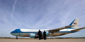 Air Force One 300x150 PAX AMERICANA // American peace Romano Pisciotti