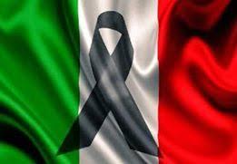Bandiera a lutto Genova: Ponte sul Polcevera    (Italy) Romano Pisciotti