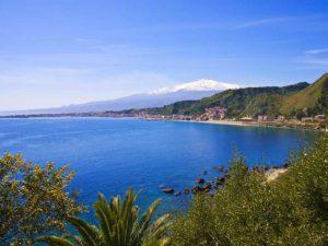 Taormina e lEtna innevato 300x225 The beautiful Sicily Romano Pisciotti