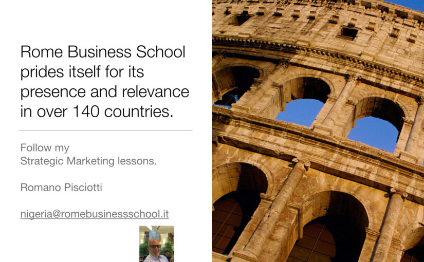 THE ROME BUSINESS SCHOOL NIGERIA