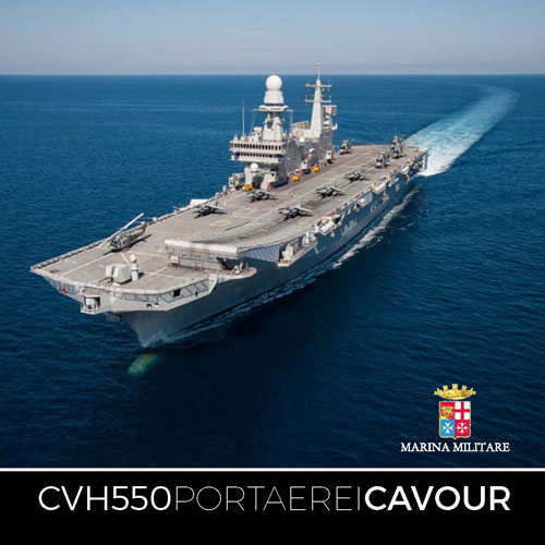 The Cavour, Italian Navy
