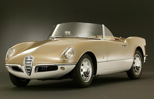 Alfa Romeo Giulietta Spider Nuccio Bertone, Master of automotive design Romano Pisciotti