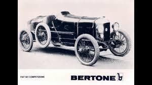 Fiat 501 Sport 300x168 Nuccio Bertone, Master of automotive design Romano Pisciotti
