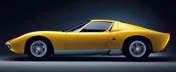 Lamborghini Miura Nuccio Bertone, Master of automotive design Romano Pisciotti