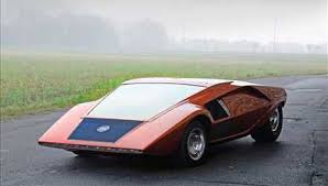 Lancia Stratos Zero Nuccio Bertone, Master of automotive design Romano Pisciotti