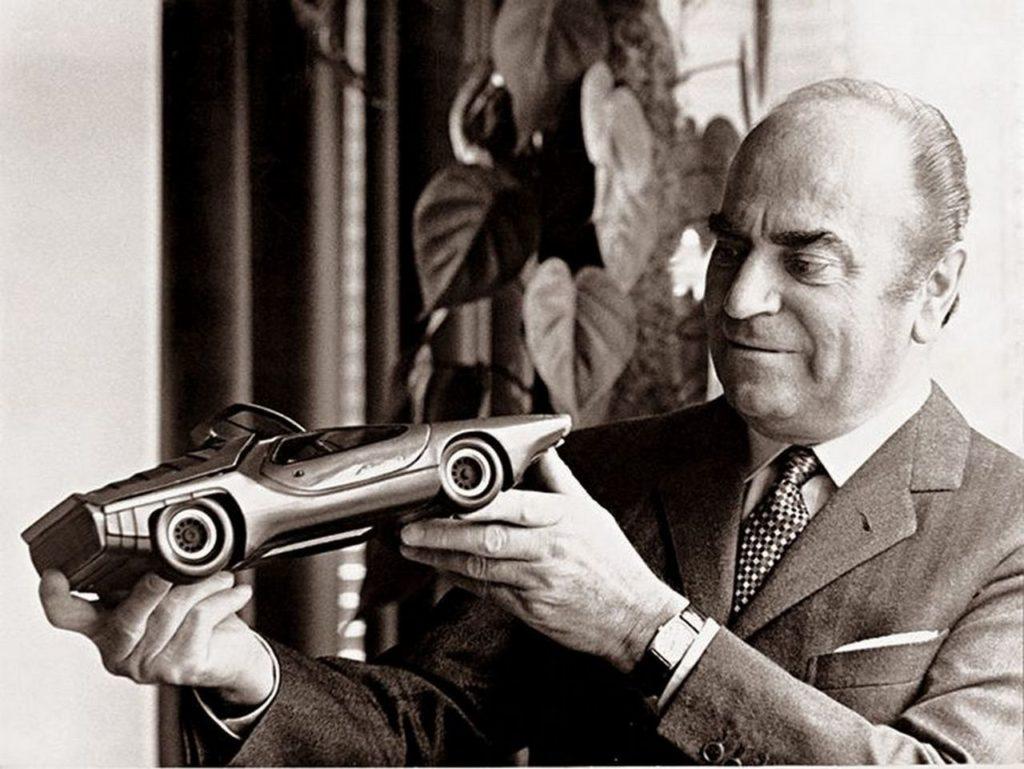 Nuccio Bertone 1024x769 Nuccio Bertone, Master of automotive design Romano Pisciotti