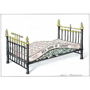 """""""Nascondete soldi sotto il letto"""""""
