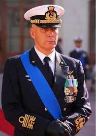 Ammiraglio Giuseppe Cavo Dragone ONORE Romano Pisciotti