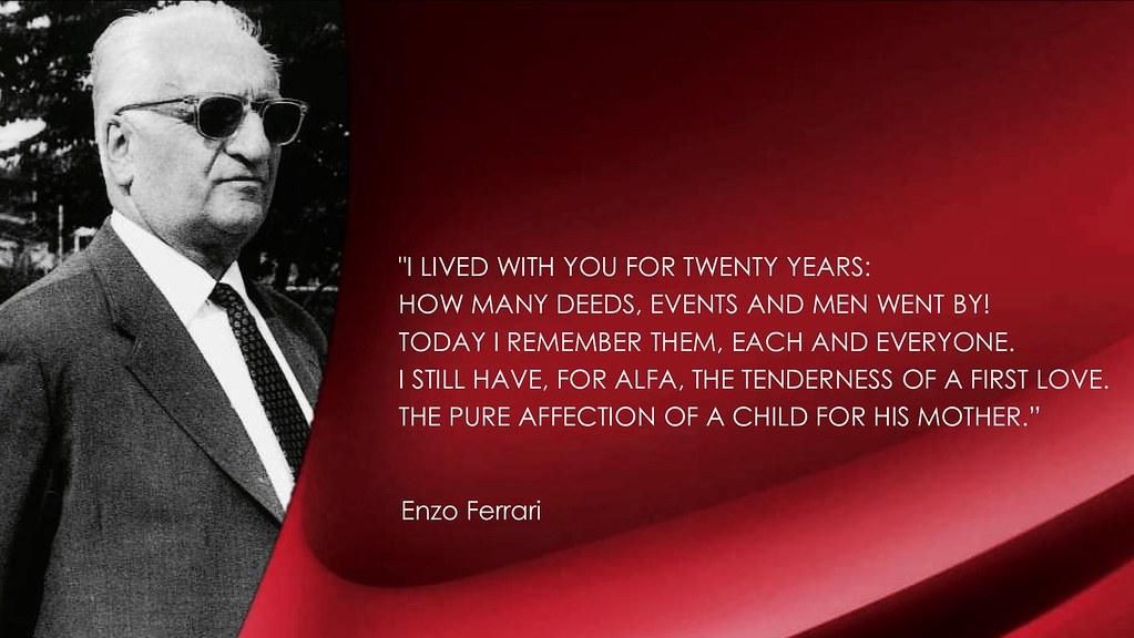 Enzo Application for employment in Alfa Romeo of Enzo FERRARI //La domanda di assunzione in Alfa Romeo di Enzo FERRARI Romano Pisciotti