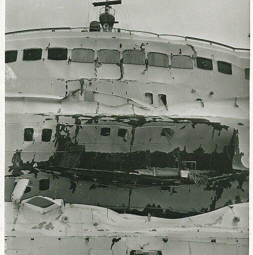Una pagina triste della marineria italiana