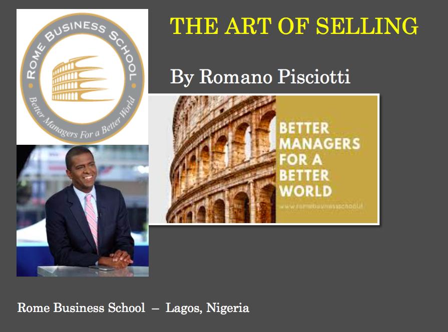 Romano business shool Success rate of our presentations Romano Pisciotti