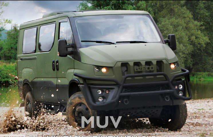 IVECO: The new MUV