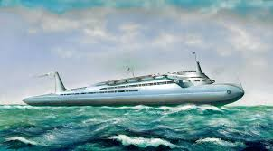 Streamlined Ocean Liner