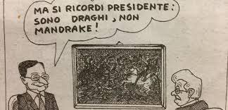mandrake LItalia di Draghi Romano Pisciotti