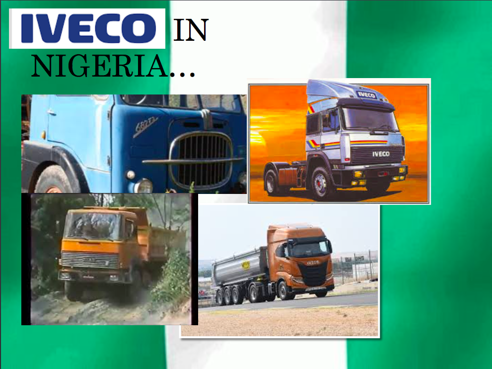 IVECO IN NIGERIA Motor Parts Industry (MPI   Lagos), a piece of history and motorization in Nigeria Romano Pisciotti