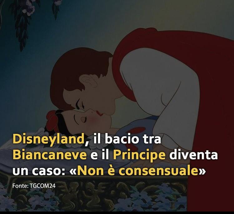 IMG 4923 Il caso Biancaneve e del bacio del Principe Romano Pisciotti