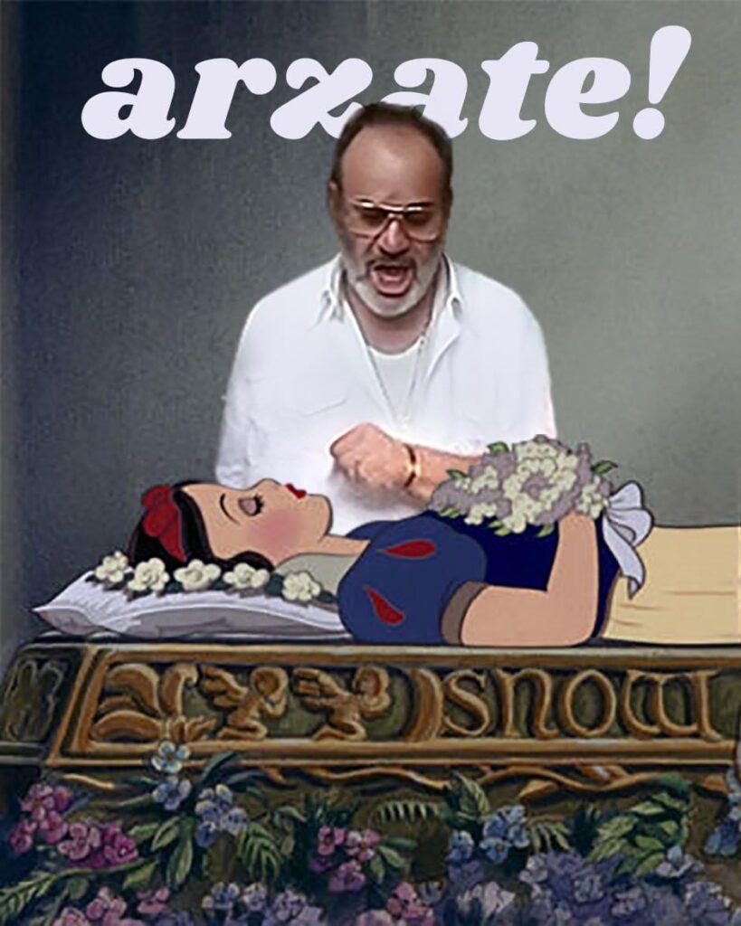 IMG 4929 819x1024 Il caso Biancaneve e del bacio del Principe Romano Pisciotti