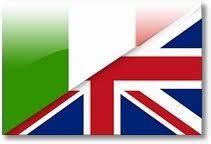 Bandiera Inglese e italiaa MADE IN ITALY Romano Pisciotti