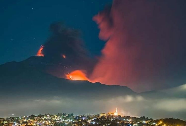 The spectacle of the Volcano