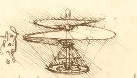 Leonardo and the flight