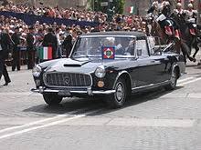 Lancia Flaminia 355, l'auto del Presidente