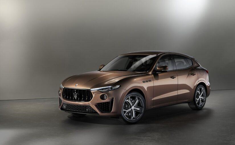 Style icon: Maserati Levante