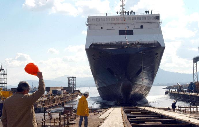 A Palermo si tornerà a costruire navi